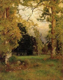 Late Afternoon | George Inness | Gemälde Reproduktion