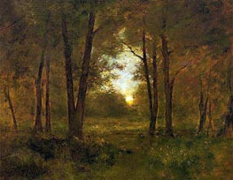 Sundown near Montclair | George Inness | Painting Reproduction