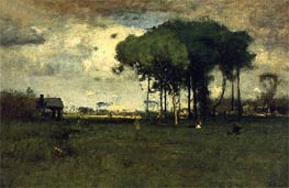Georgia Pines - Afternoon, 1886 von George Inness | Gemälde-Reproduktion