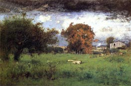 Early Autumn, Montclair, 1888 von George Inness | Gemälde-Reproduktion