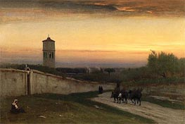 Twilight | George Inness | Painting Reproduction