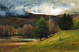 Kearsarge Village | George Inness | Painting Reproduction