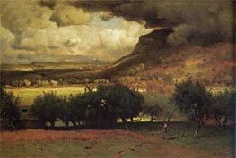 The Coming Storm, 1872 by George Inness | Painting Reproduction