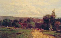Spring, 1860 by George Inness | Painting Reproduction