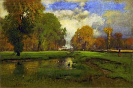 October, 1886 by George Inness | Painting Reproduction