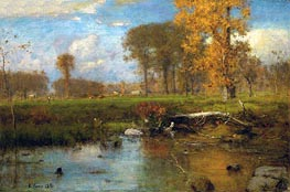 Spirit of Autumn, 1891 by George Inness | Painting Reproduction