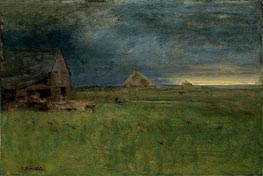 The Lone Farm, Nantucket | George Inness | Painting Reproduction