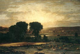 Peace and Plenty | George Inness | Painting Reproduction