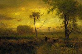 Sunrise | George Inness | Painting Reproduction