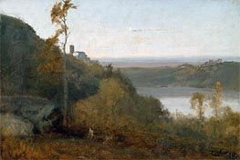 Lake Nemi | George Inness | Painting Reproduction