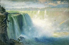 Blue Niagara | George Inness | Painting Reproduction