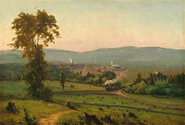 The Lackawanna Valley, c.1856 von George Inness | Gemälde-Reproduktion