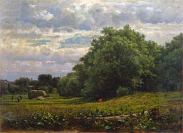 Harvest Time | George Inness | Painting Reproduction