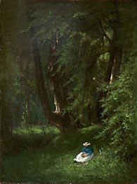 In the Woods, 1866 von George Inness | Gemälde-Reproduktion