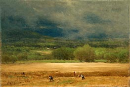 The Wheat Field | George Inness | Painting Reproduction