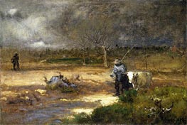 Homeward, 1881 by George Inness | Painting Reproduction