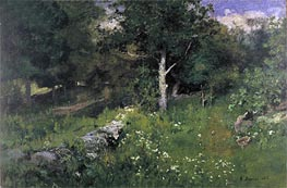 Summer Foliage, 1883 by George Inness | Painting Reproduction