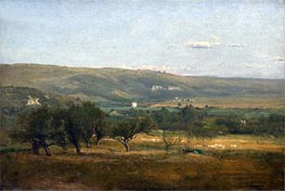 Italy, c.1872/74 by George Inness | Painting Reproduction