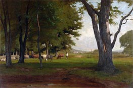 Summer Landscape, 1876 by George Inness | Painting Reproduction