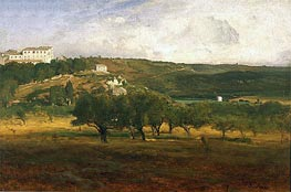Perugia, c.1873 by George Inness | Painting Reproduction