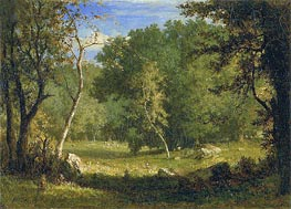 Elf Ground, c.1860 by George Inness | Painting Reproduction