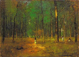 Georgia Pines, 1890 by George Inness | Painting Reproduction