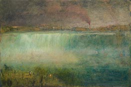 Niagara, 1889 by George Inness | Painting Reproduction