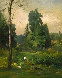 Summer, Montclair, 1877 by George Inness | Painting Reproduction