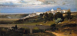 Ariccia, 1874 by George Inness | Painting Reproduction