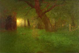 Sunset in the Old Orchard, 1894 von George Inness | Gemälde-Reproduktion
