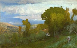 Albano, Italy, Undated by George Inness | Painting Reproduction