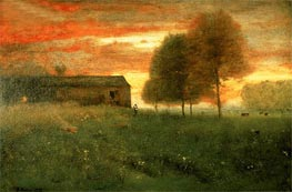 Sunset, Montclair | George Inness | Painting Reproduction