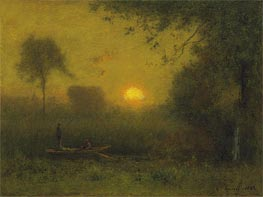 The Sun, 1886 by George Inness | Painting Reproduction
