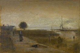 Gulf of Mexico, Florida, 1894 by George Inness | Painting Reproduction