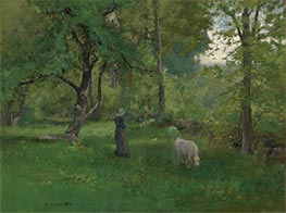 Green Landscape | George Inness | Painting Reproduction