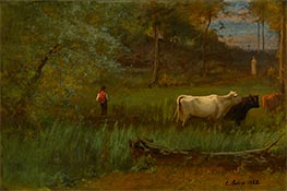 A Pastoral | George Inness | Painting Reproduction