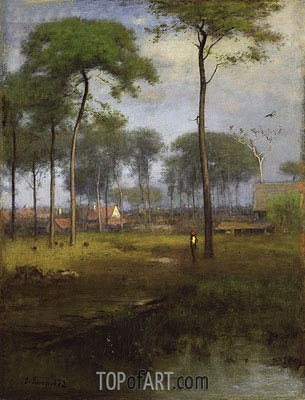 Early Morning, Tarpon Springs, 1892 | George Inness | Gemälde Reproduktion