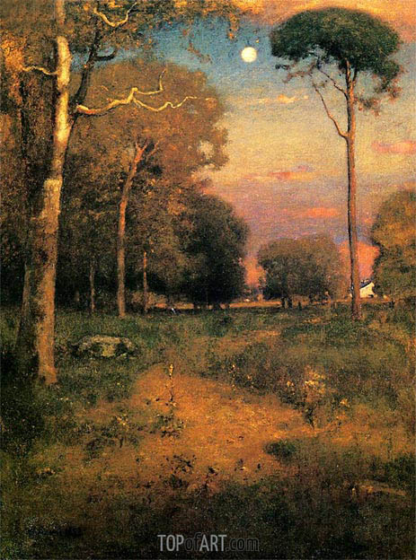 Early Moonrise, Florida (Early Morning, Florida), 1893 | George Inness | Painting Reproduction