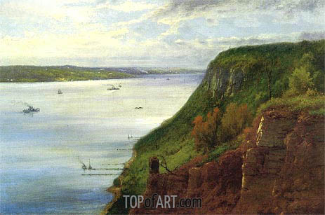 The Palisaides, c.1884 | George Inness | Painting Reproduction