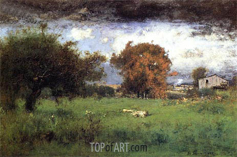 Early Autumn, Montclair, 1888 | George Inness | Painting Reproduction