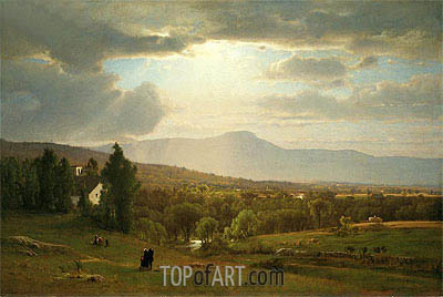 Catskill Mountains, 1870   George Inness   Painting Reproduction