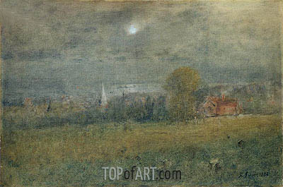 Moonlight on Passamaquoddy Bay, 1893 | George Inness | Painting Reproduction