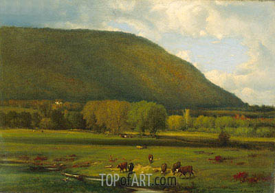 Hudson River Valley, 1867 | George Inness | Painting Reproduction
