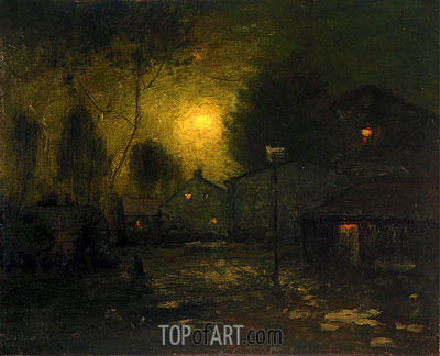 Moonlight, 1893 | George Inness | Painting Reproduction