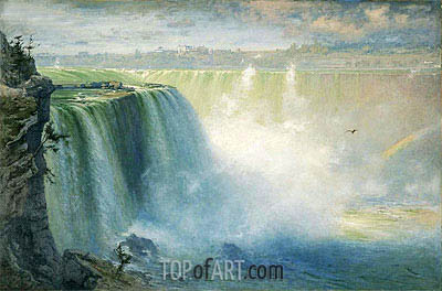 Blue Niagara, 1884 | George Inness | Painting Reproduction