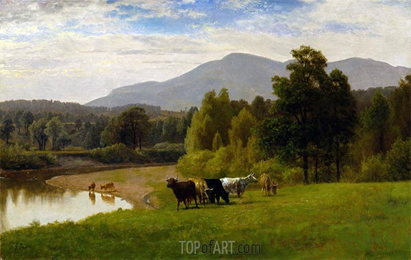 Pasture Lands, 1867 | George Inness | Painting Reproduction