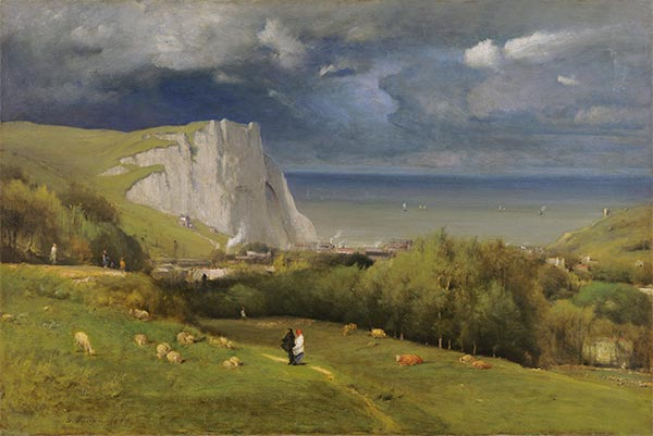 Etretat, 1875 | George Inness | Painting Reproduction
