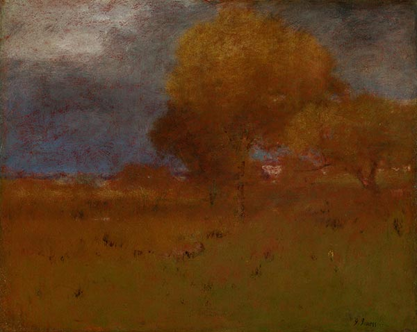 Herbst in Montclair, c.1894 | George Inness | Gemälde Reproduktion
