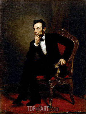 Abraham Lincoln, 1869 | George Healy | Painting Reproduction