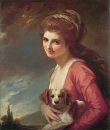 Lady Hamilton as 'Nature', 1782 by George Romney | Painting Reproduction